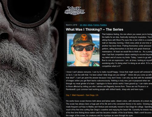 What Was I Thinking? – The Series